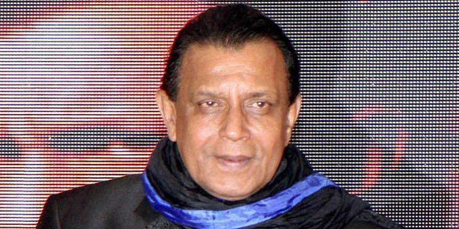 Bollywood actor Mithun Chakraborty