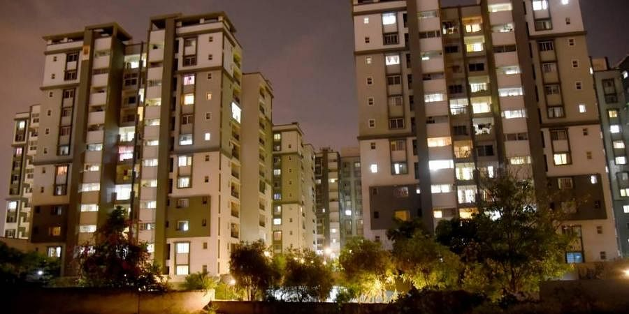 housing complexes, housing apartments, realty projects, buildings, residential buildings