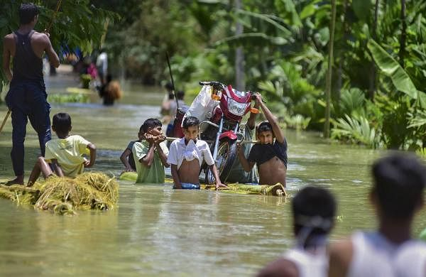 Assam flood death tollrises to three, over 2.94 lakh affected