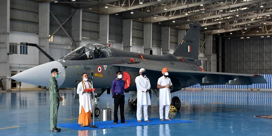 Final Operation Clearences during the induction ceremony at Sulur air base at the outskirts of Coimbatore. (Photo | EPS)