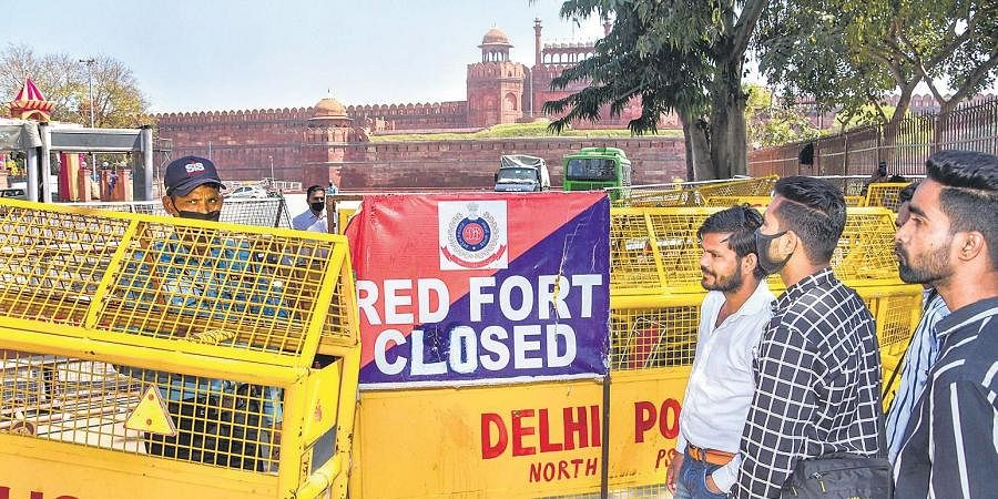 According to the officials, drone photography of heritage structures and monuments is prohibited especially the Red Fort