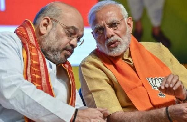 Home Minister Amit Shah meets PM Narendra Modi; briefs on CMs views on lockdown