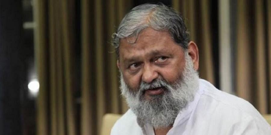 Haryana Health Minister Anil Vij