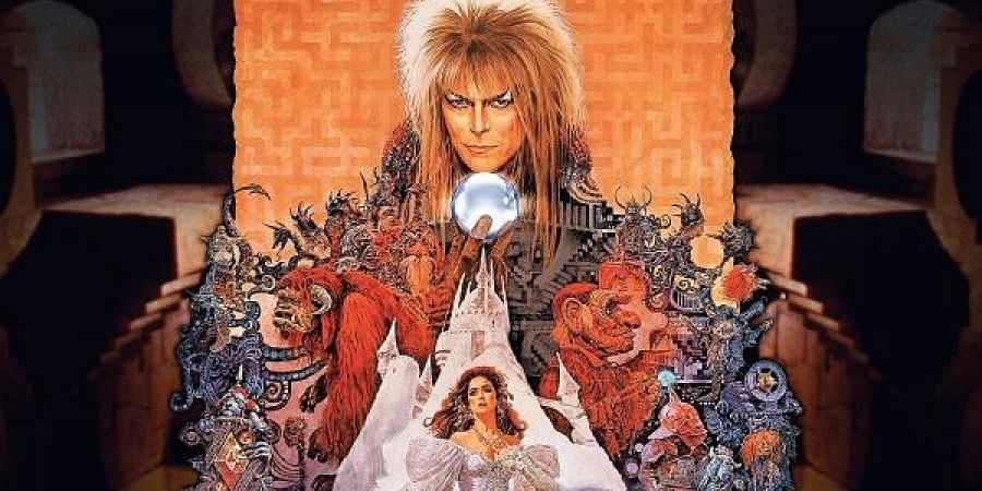 The film is about the story of Connelly trying to reach the centre of an enormous maze to rescue her infant brother. Bowie played the role of villainous Jareth, the Goblin King.