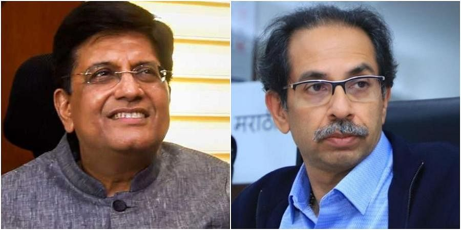 Piyush Goyal, uddhav thackeray