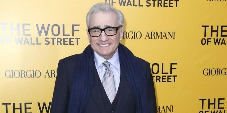 Hollywood director Martin Scorsese