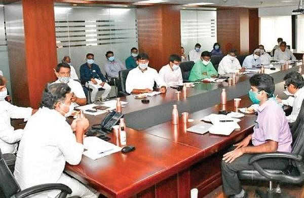 Speed up ongoing road development works, says KTR