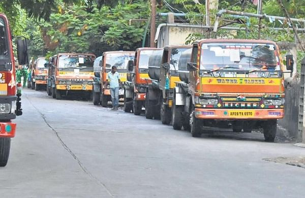 Lockdown upside: No mad rush for water tankers in the Hyderabad