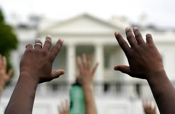 George Floyd case: White House on lockdown as protests reach Washington