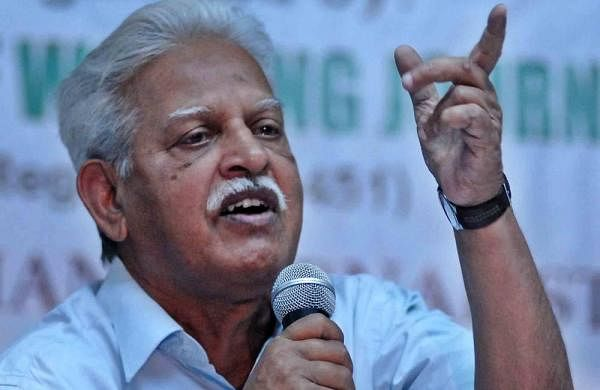 ​Poet-activist Varavara Rao discharged from hospital, back in Navi Mumbai's Taloja jail