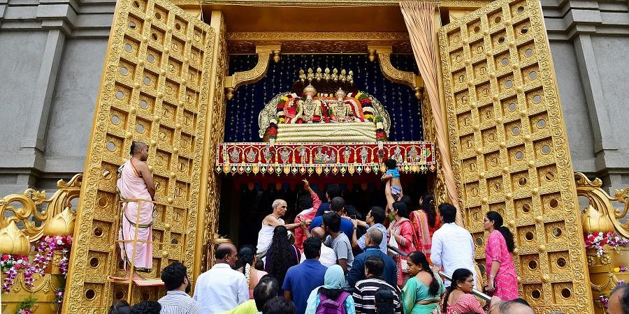 ISKCON Temple located at Rajaji Nagar and Kanakpura Road in Bengaluru was shut on March 18 till further orders for the common people.