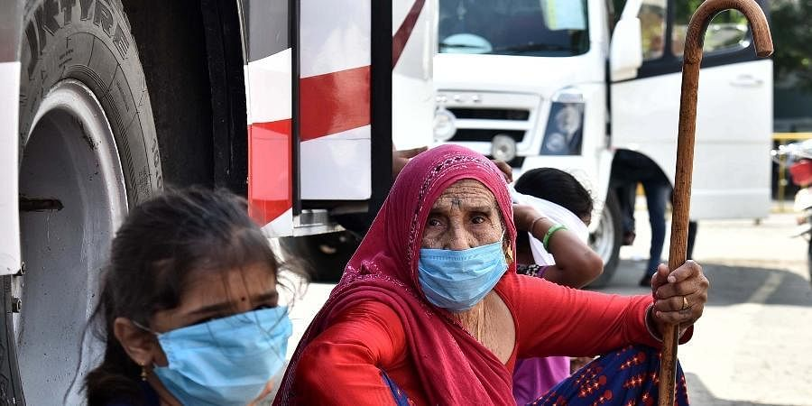 Migrants, masks, coronavirus