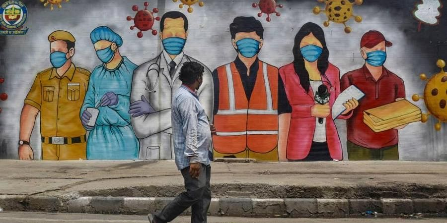 new delhi lockdown, coronavirus, covid-19 warriors