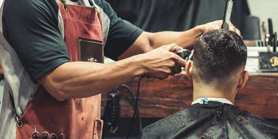 Haircut, Salon, Hair styling