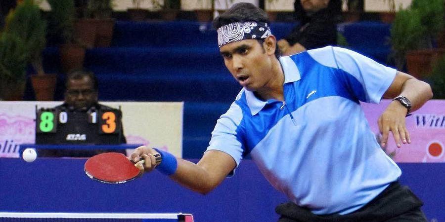 Indian table tennis star Sharath Kamal