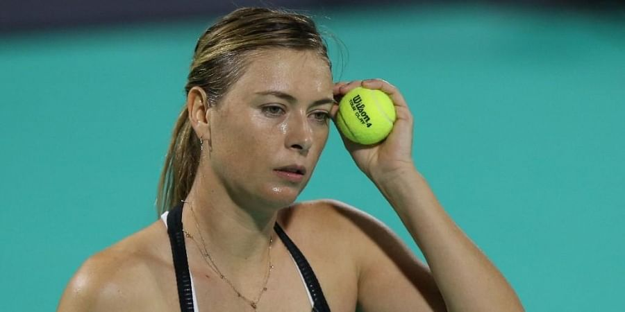 Maria Sharapova of Russia. (Photo | AFP)