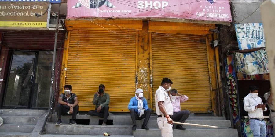 Delhi police, covid lockdown