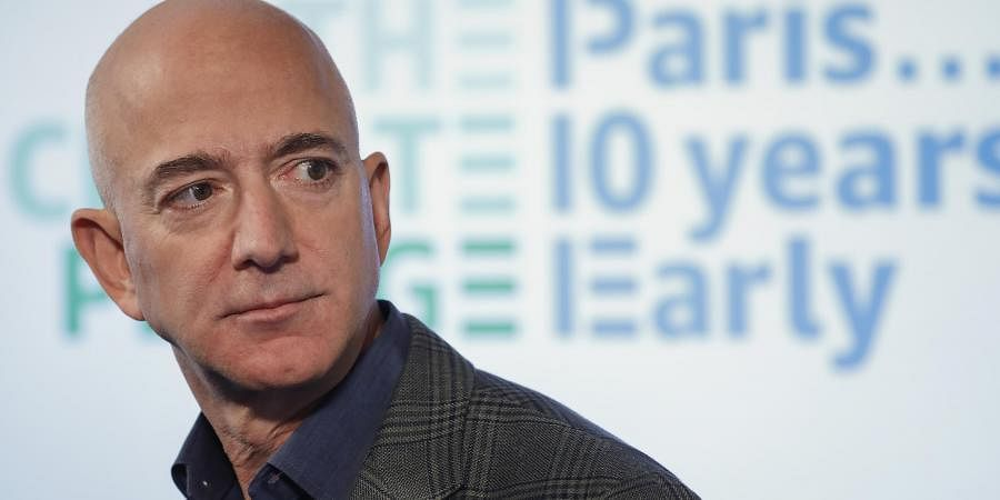 Jeff Besos: The Amazon CEO has donated 100 million US dollar. (Photo   AP)
