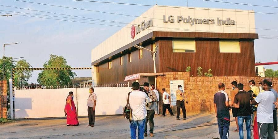 LG Polymers unit in Visakhapatnam.