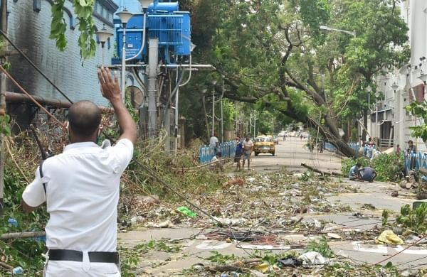 Amphan: Rain seeped through walls of shops,thousands of books soaked; College Street counts losses