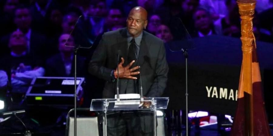 NBA legend Michael Jordan