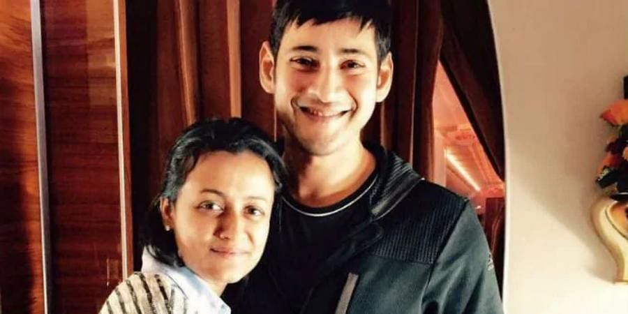 Tollywood actor Mahesh Babu with his wife Namrata Shirodkar