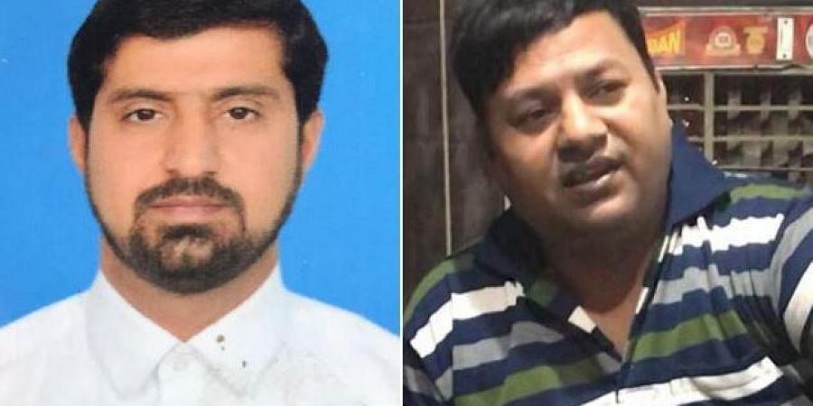 According to sources, the two persons have been identified as Abid Hussain and Tahir Khan.