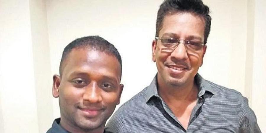 Anthony Amalraj (L) and TK Vadivel Pillai