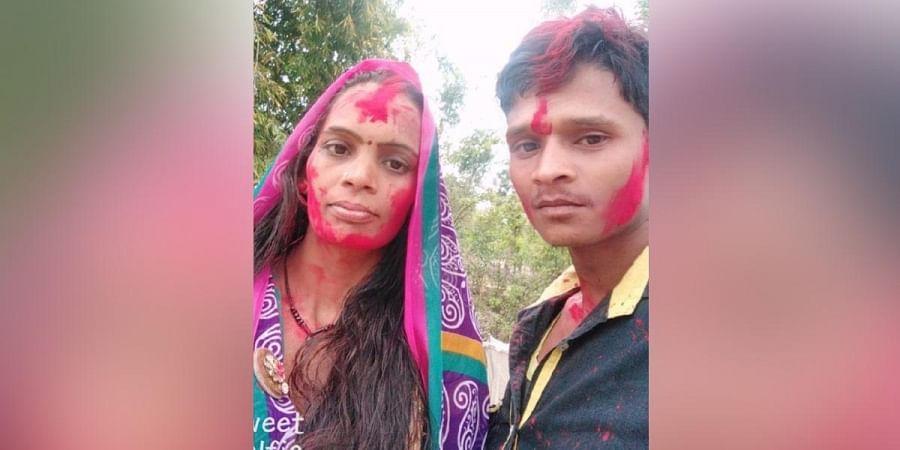 Rajkumar Puri with wife Gayatri