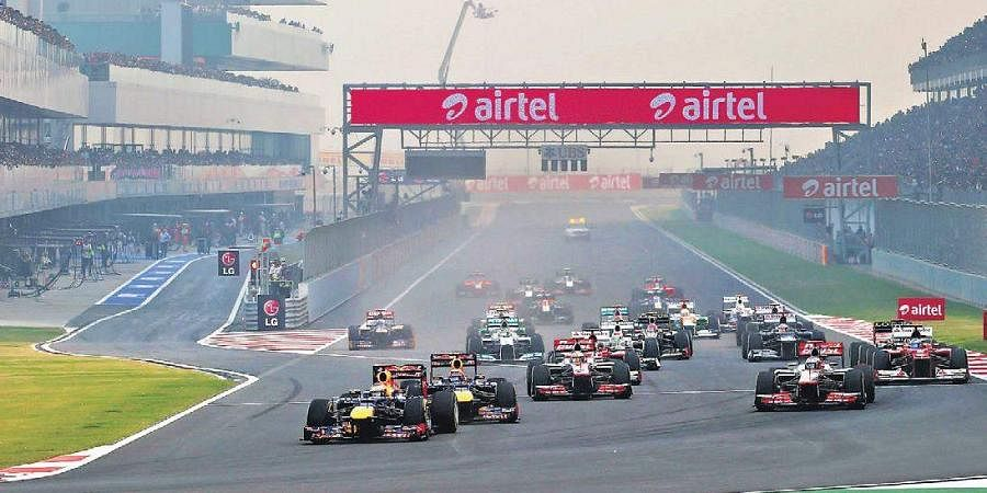 The Buddh International Circuit during its halcyon days.