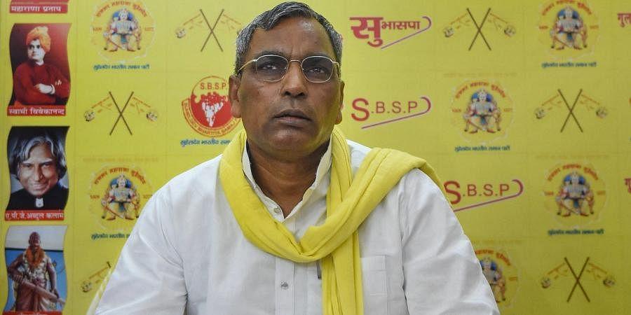 Former Uttar Pradesh Minister and SBSP chief Om Prakash Rajbhar