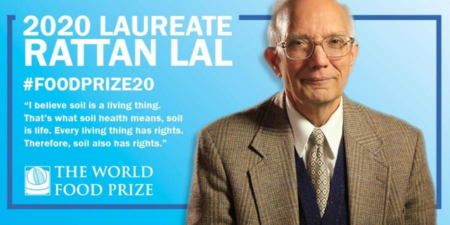 Indian-American soil scientist Dr Rattan Lal wins prestigious World Food Prize
