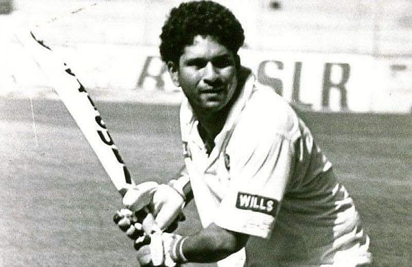 On this day in 1990, Sachin Tendulkar scored his maiden international ton