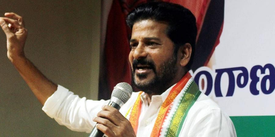 TPCC working president A Revanth Reddy