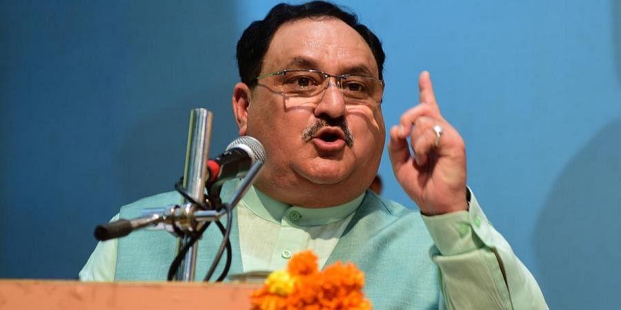 BJP national president J P Nadda