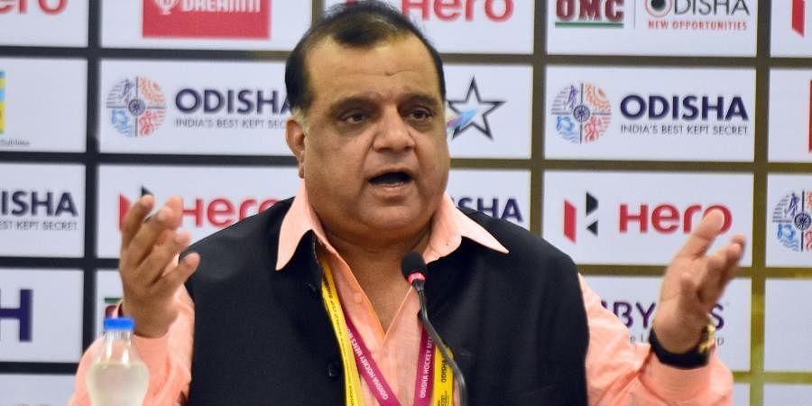 Indian Olympic Association president Narinder Batra