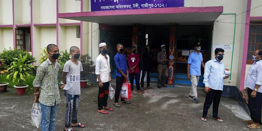 The committee is marking an area that has recorded minimum 60 COVID-19 cases among 100,000 people in last 14 days as a red zone in Dhaka and Chattogram cities.