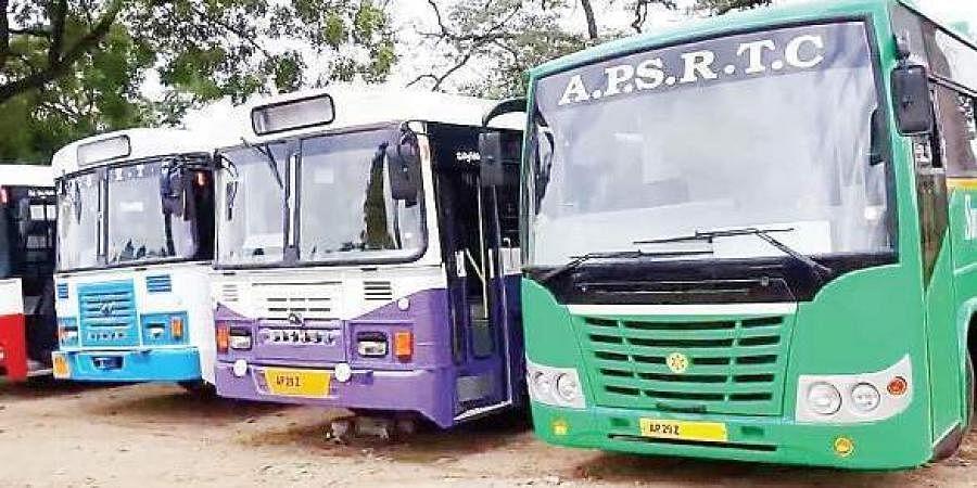APSRTC buses