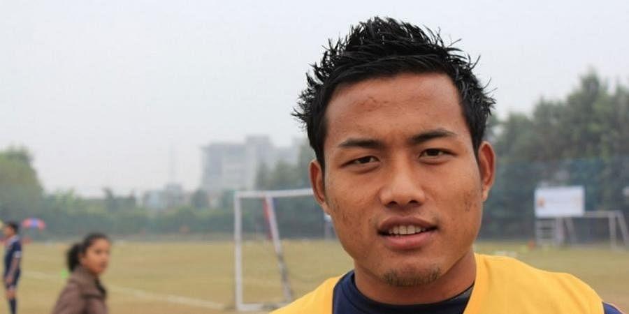 India striker Jeje Lalpekhlua