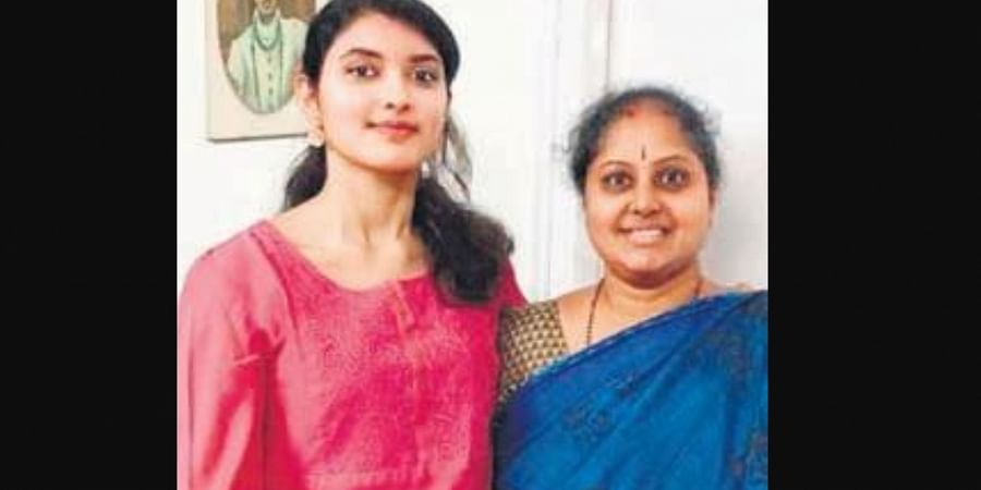 Urmila said she came across the reports that Sanchaita Gajapathi Raju claiming that she was the legal heir of Ananda Gajapathi Raju as she is his eldest daughter.