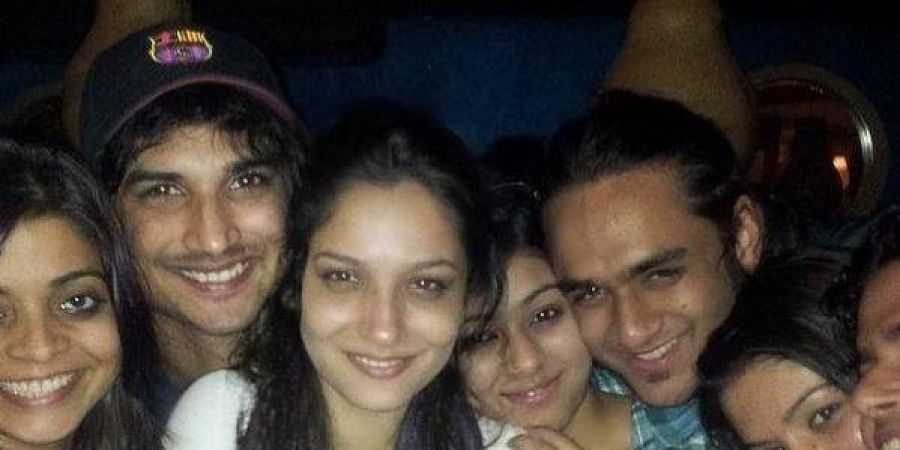 Vikas Gupta shared a throwback photo with the late Sushant SinghRajput and his ex-girlfriend Ankita Lokhande.