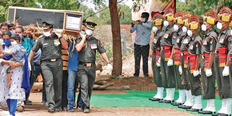 RIP Colonel Santosh Babu: Thousands unite in grief at Suryapet funeral- The  New Indian Express