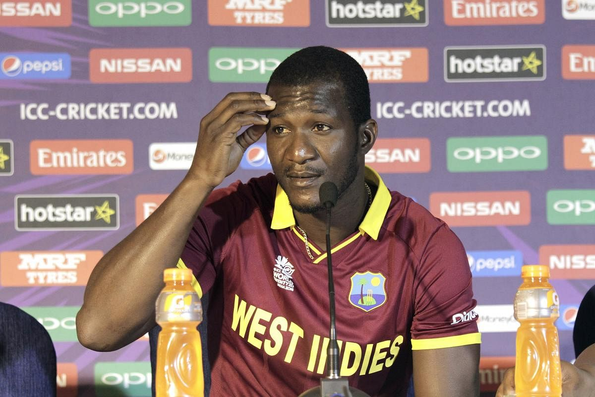 Or else you're part of the problem': Darren Sammy asks fraternity ...