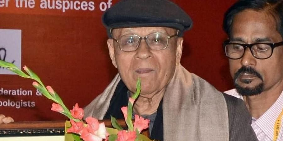 Renowned anthropologist Prof LK Mahapatra