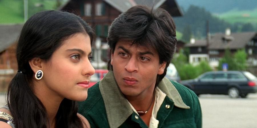 Shah Rukh Khan and Kajol in the 1995 hit 'Dilwale Dulhania Le Jayenge'