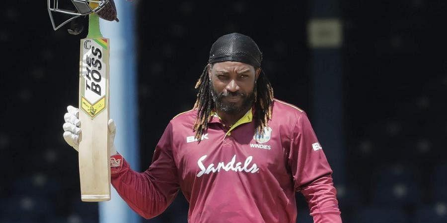 West Indies veteran batsman Chris Gayle