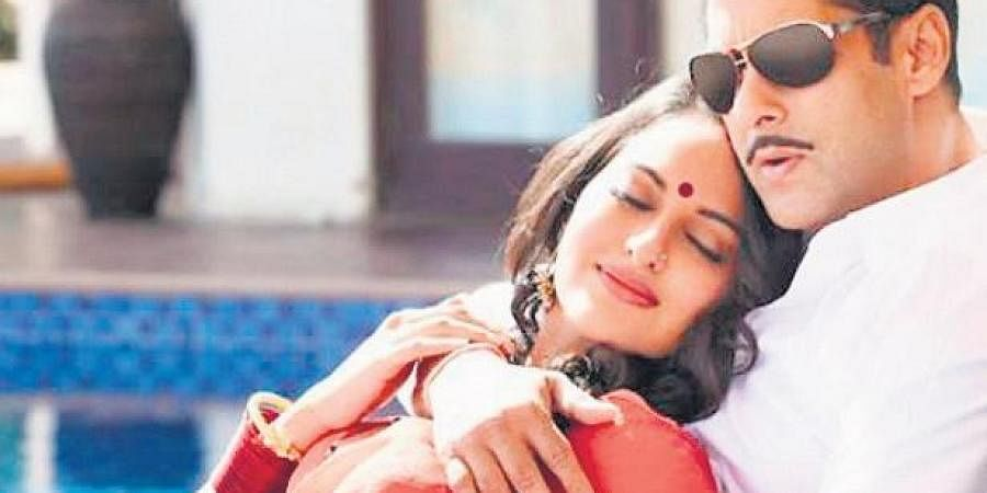Sonakshi Sinha and Salman Khan.