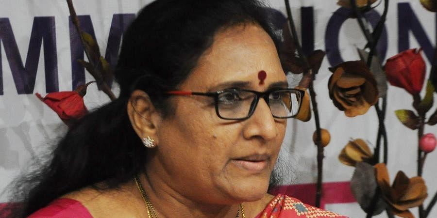 Andhra Pradesh Women's Commission chairperson Vasireddy Padma
