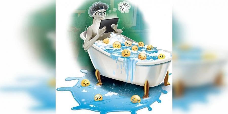 COVID stress, Online addiction,