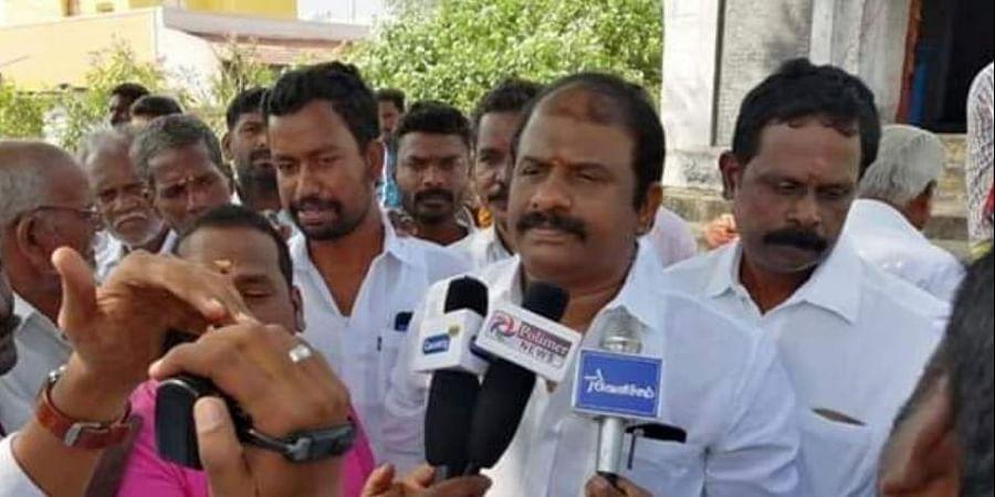 DMK legislator Vasantham K Karthikeyan (Photo | Twitter)
